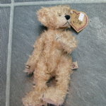 Heartfelt collectibles Jimmy  JOINTED TEDDY bear designed by Ferri booker TAGGED @sold@